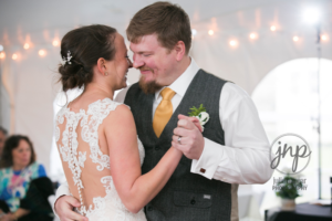 Northern Virginia Rustic Wedding DJ and Uplighting