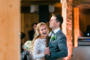 DJ Ryan Brooks of Bela Sono Music providing DJ & Lighting Design at Big Spring Farm Wedding
